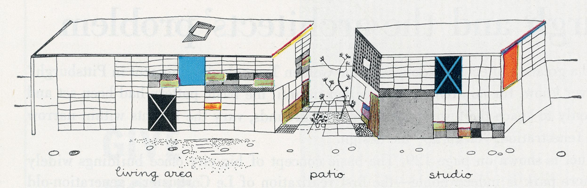 Charles and Ray Eames. Architectural Forum Aug 1950, 90