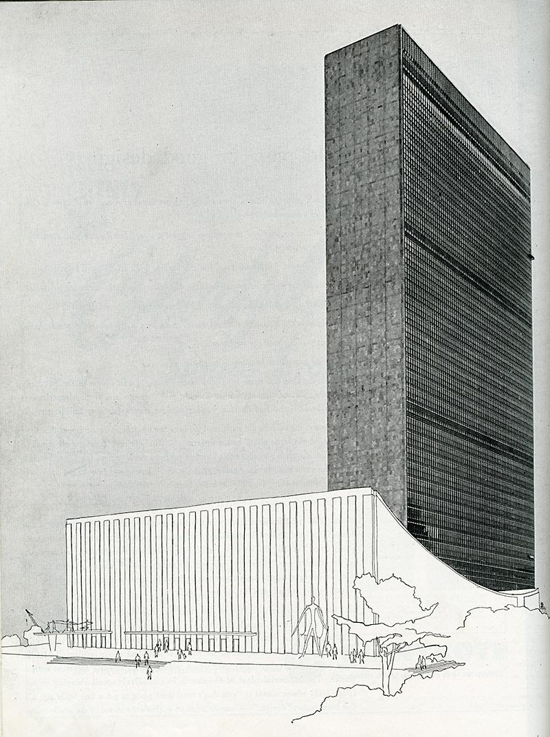 Wallace Harrison. Architectural Forum May 1950, 96