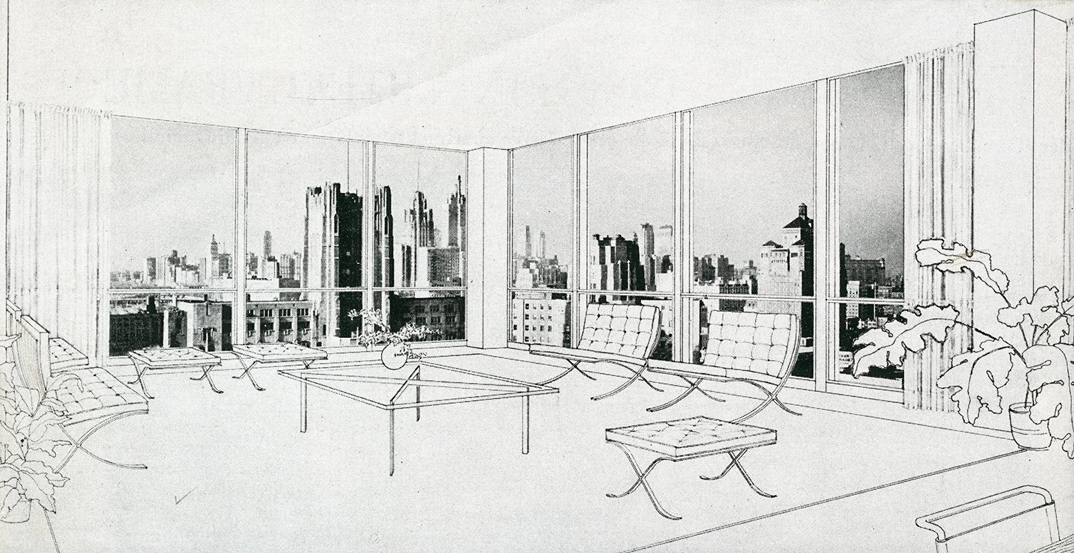 Mies van der Rohe. Architectural Forum Jan 1950, 76
