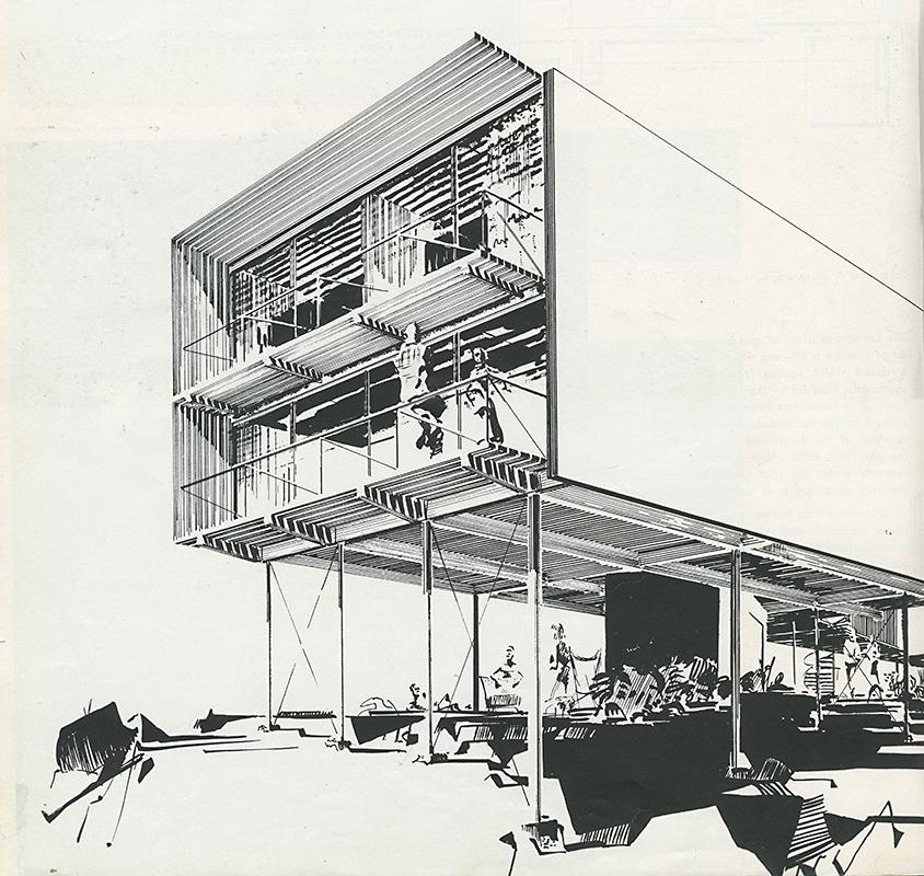 Greta Grossman. Arts and Architecture. Feb 1951, 32