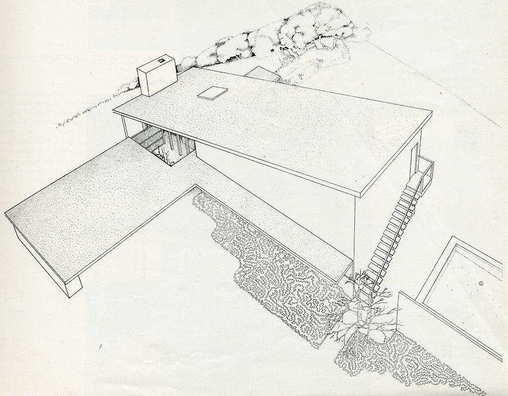 Mario Corbett. Arts and Architecture. Feb 1951, 29