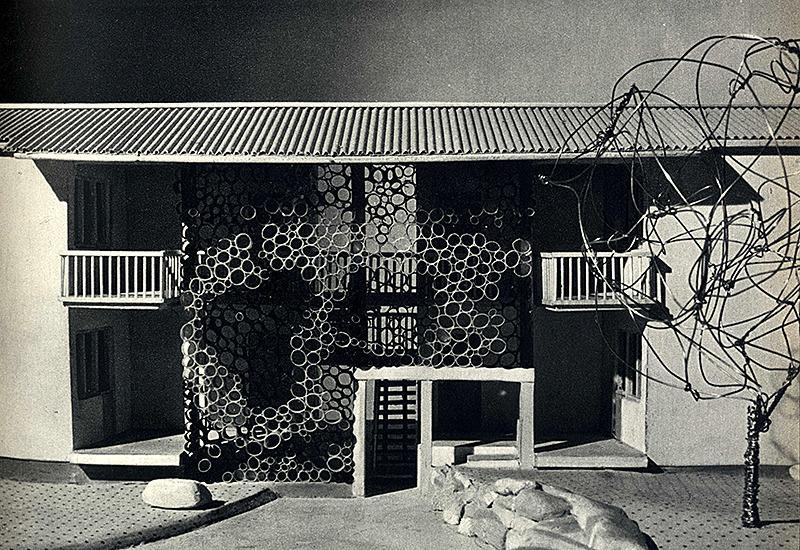 Ettore Sottsass. Domus 286 September 1953, 6