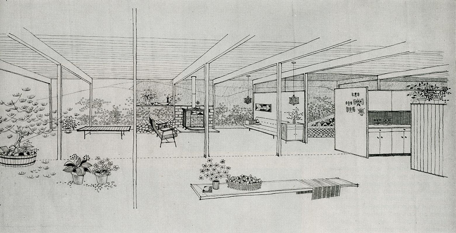 Kipp Stewart. Arts and Architecture. Dec 1953, 25