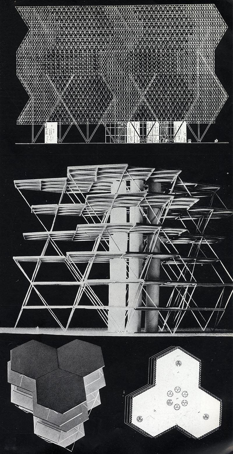 Louis Kahn. Architecture D'Aujourd'Hui v. 25 no. 55 Jul 1954, 11