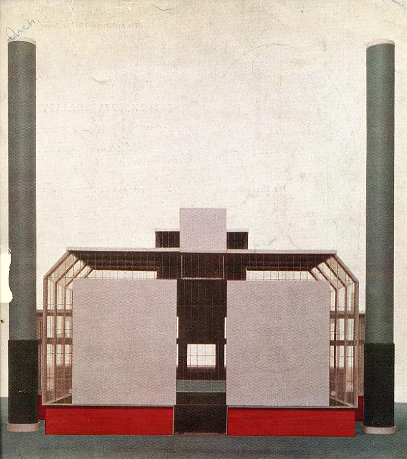 Basil Ward. Architectural Review v. 117 n. 697 Jan 1955, cover