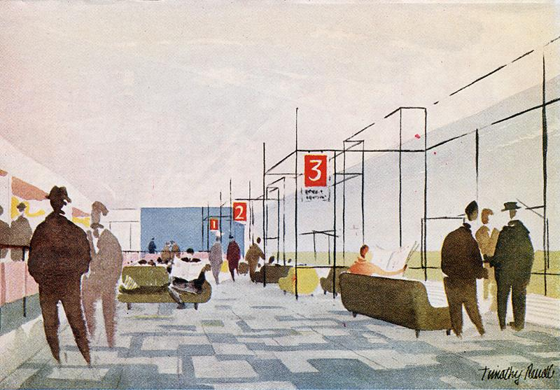 Humphrey Spender. Architectural Review v.117 n.698 Feb 1955, 79