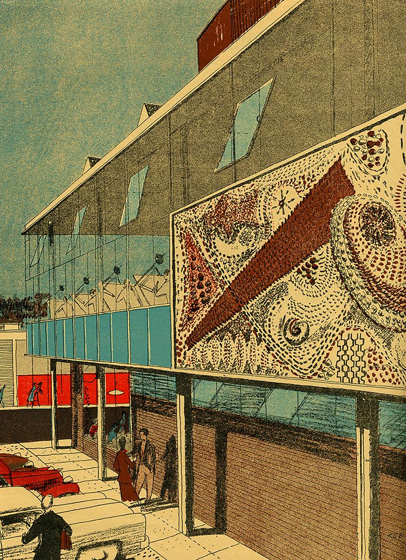 Kenneth Browne. Architectural Review v.117 n.699 Mar 1955, 155