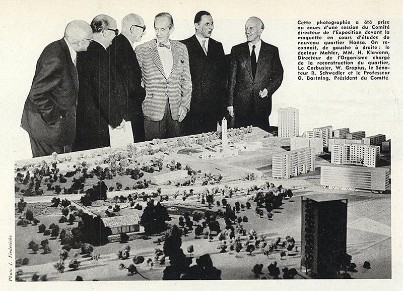 Mahler MM., H. Klawoon, Le Corbusier, Walter Gropius. Architecture D'Aujourd'Hui 63 Dec 1955, 77