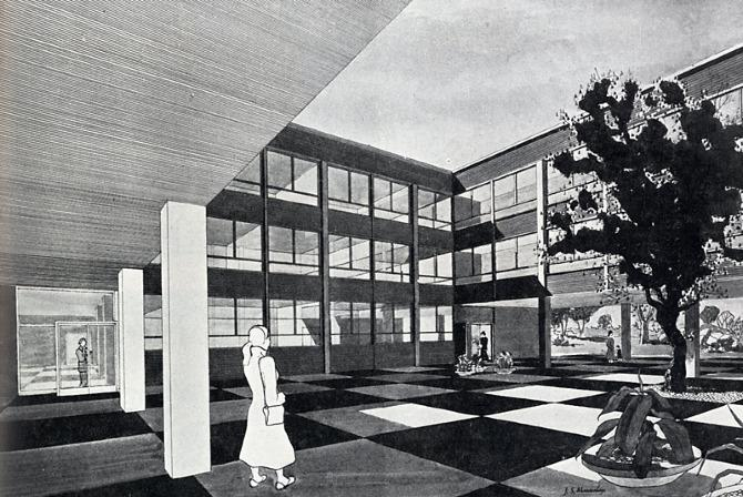 Willink and Dod. Architectural Design 25 February 1955, 41