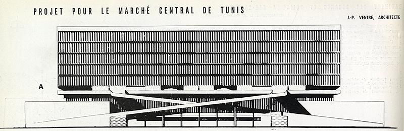 J. P. Ventre. Architecture D'Aujourd'Hui 60 June 1955, 108