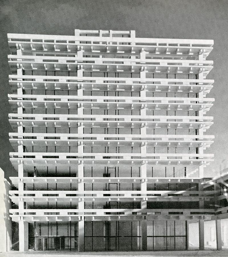 Kenzo Tange. Sinkentiku. June 1956, 26