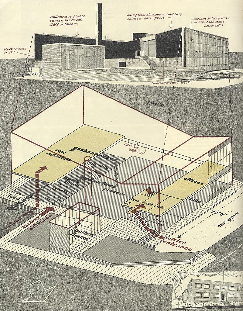 Kenneth Browne. Architectural Review v.121 n.723 Apr 1957, 230