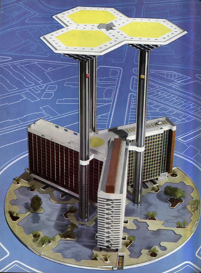 Jellicoe Mills Arup. Architectural Design 27 May 1958, 42