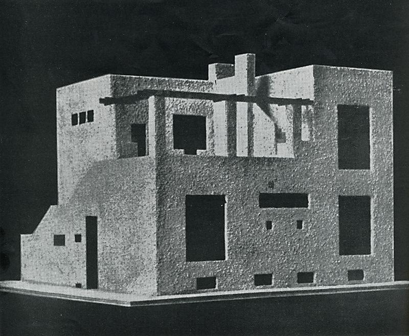 Adolf Loos. Casabella 233 (1959) 1924, 42