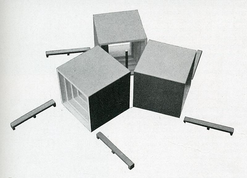 Max Bill. Casabella 228 1959, 33