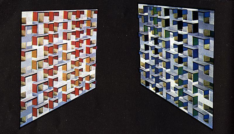 Jean Ginsberg. Architecture D'Aujourd'Hui 89 April 1960, 27