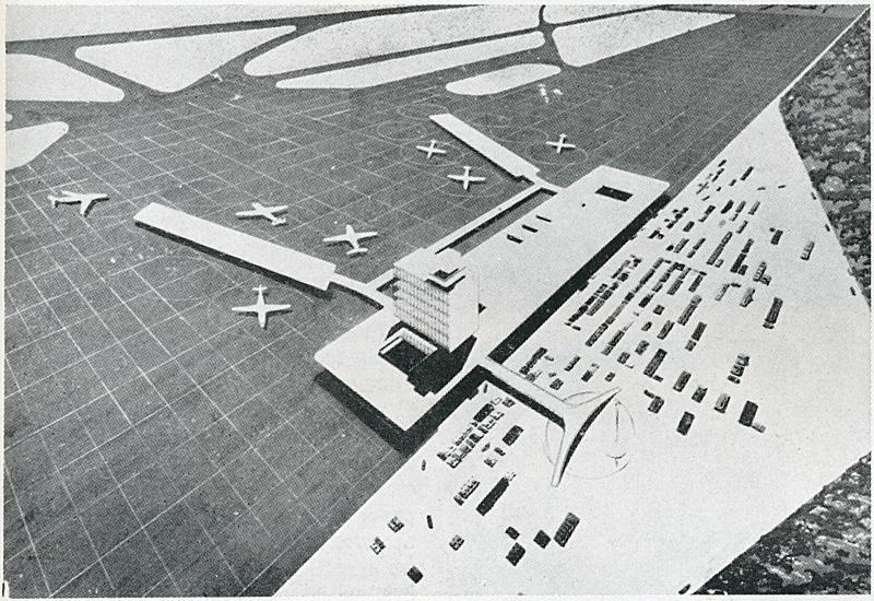 Arana, Orrego, Torres, Bao and Vasquez. Architectural Review v.129 n.772 Jun 1961, 367