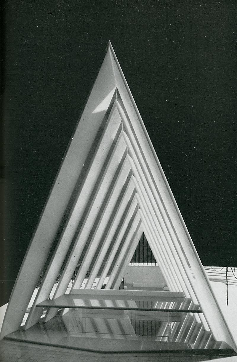 Jan Inge Hovig and Roy Holm. Architecture D'Aujourd'Hui. 96 Jun 1961, 29