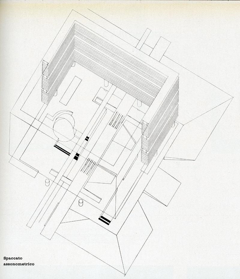 Gian Ugo Polesello, Aldo Rossi, Luca Meda. Casabella 278 1963, 49