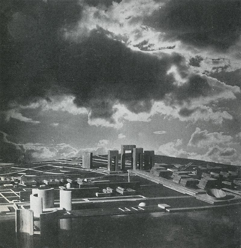 Barbara Perchal, Jerzy Plesner, Mieczyslaw Turski. Casabella 293 1964, 34