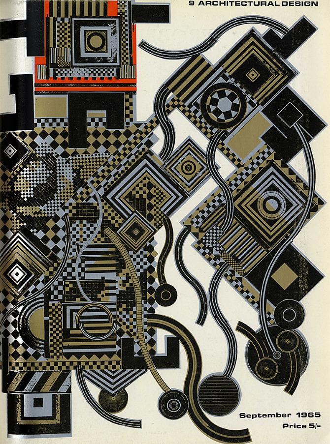 Eduardo Paolozzi. Architectural Design 35 September 1965, cover