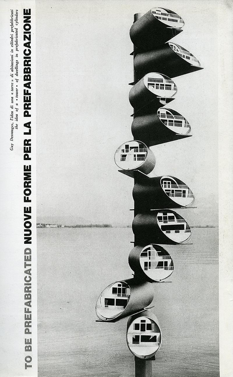 Guy Dessauges. Domus 443 October 1965, 21