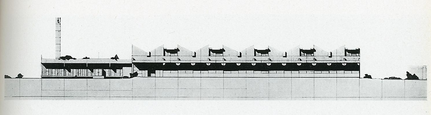 G. Gresleri. Casabella 307 1966, 46