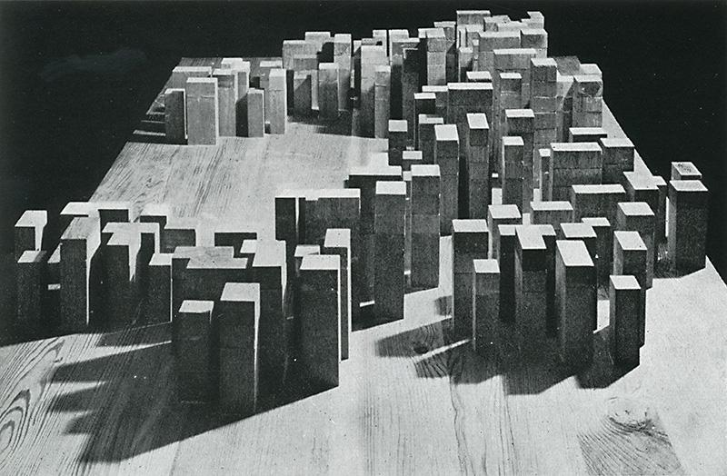 O. M. Ungers. Casabella 305 1966, 45