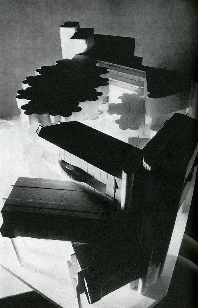 Maurizio Sacripanti, Fabrizio Frigerio, Giovanni Pellegrinechi, Giulio Perucchini. Casabella 321 1967, 28