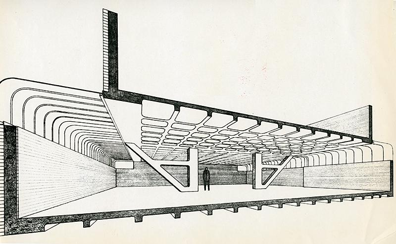 James Gowan. Architectural Review v.143 n.851 Jan 1968, cover