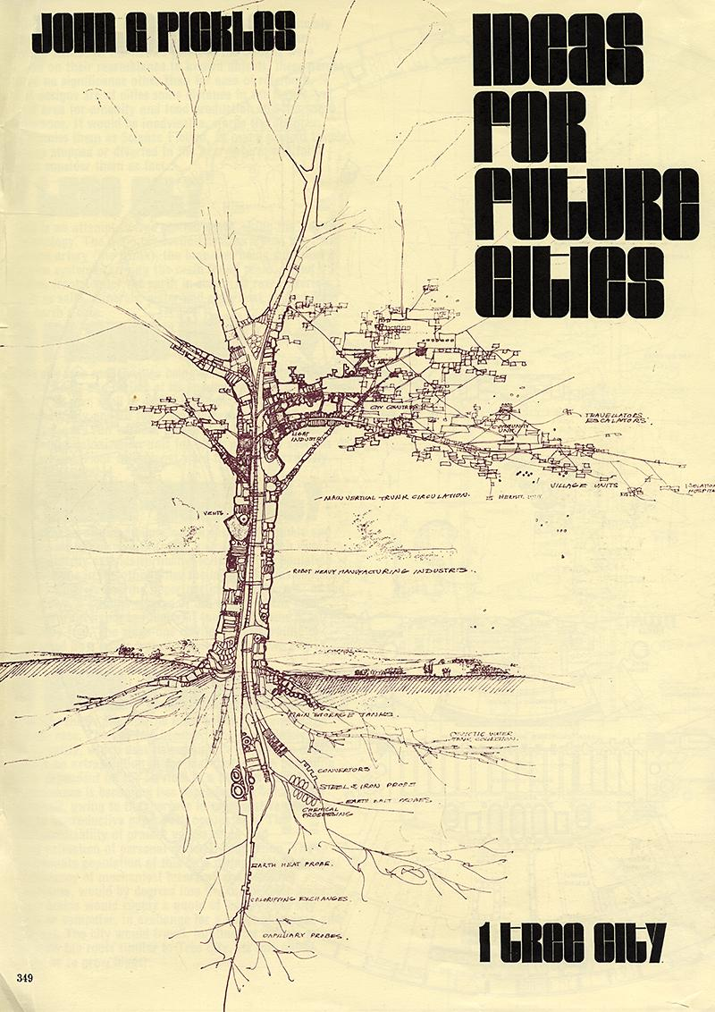 John G. Pickles. Architectural Review v.145 n.867 May 1969, 349