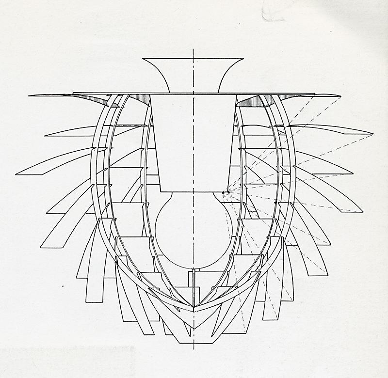 Louis Poulsen. Cree 1 1969, ad