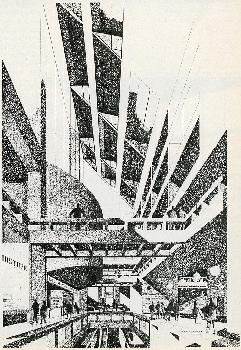 William Pedersen. Architectural Record. Jan 1970, 137