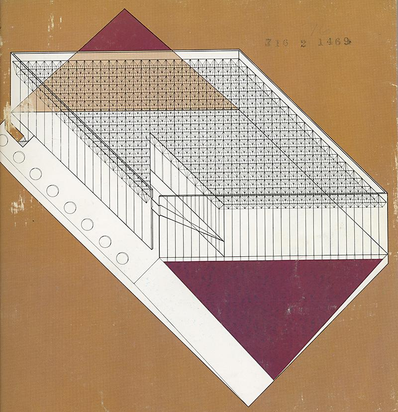Gunnar Birkerts. Architectural Record. Oct 1971, cover