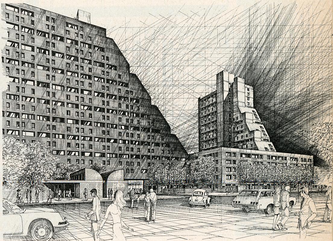 Hoberman and Wasserman. Architectural Record. Apr 1971, 127