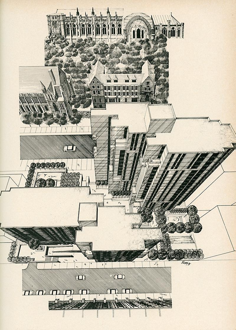 Davis Brody and Associates. Architectural Record. Aug 1972, 103