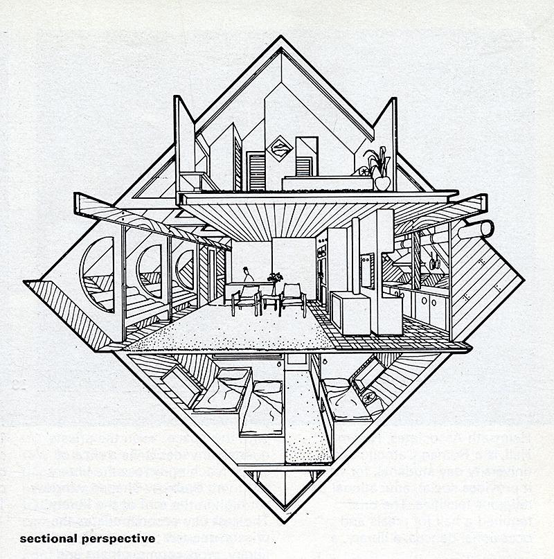 Clovis Heimsath. Architectural Review v.156 n.929 Jul 1974, 33