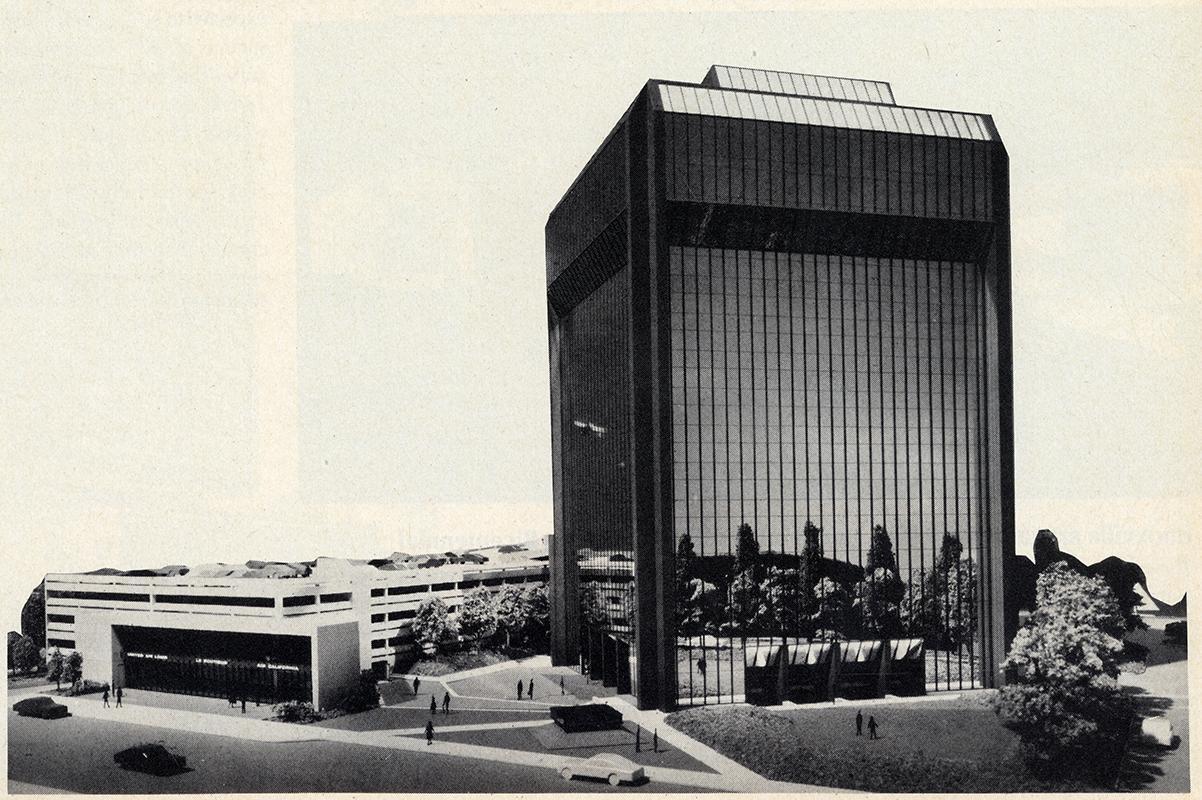 M. Arthur Gensler Jr.. Architectural Record. Apr 1974, 37
