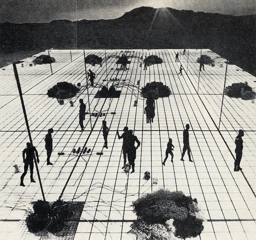Superstudio. Architectural Record. Jan 1974, 35
