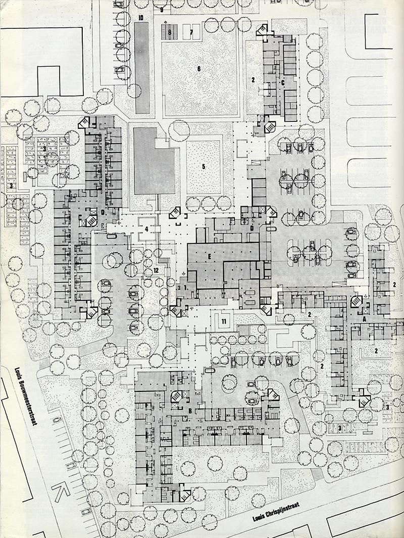 Herman Hertzberger. Architectural Review v.159 n.948 Feb 1976, 75