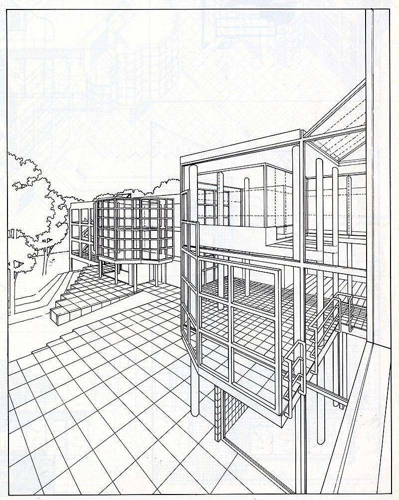 James Stewart Polshek. Architecture D'Aujourd'Hui 207 February 1980, 61