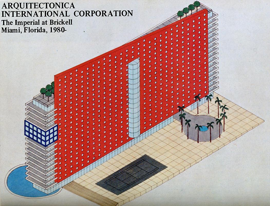 Arquitectonica. GA Houses. 8 1981, 108