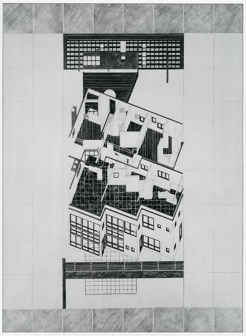 Tod Williams. GA Houses. 8 1981, 157