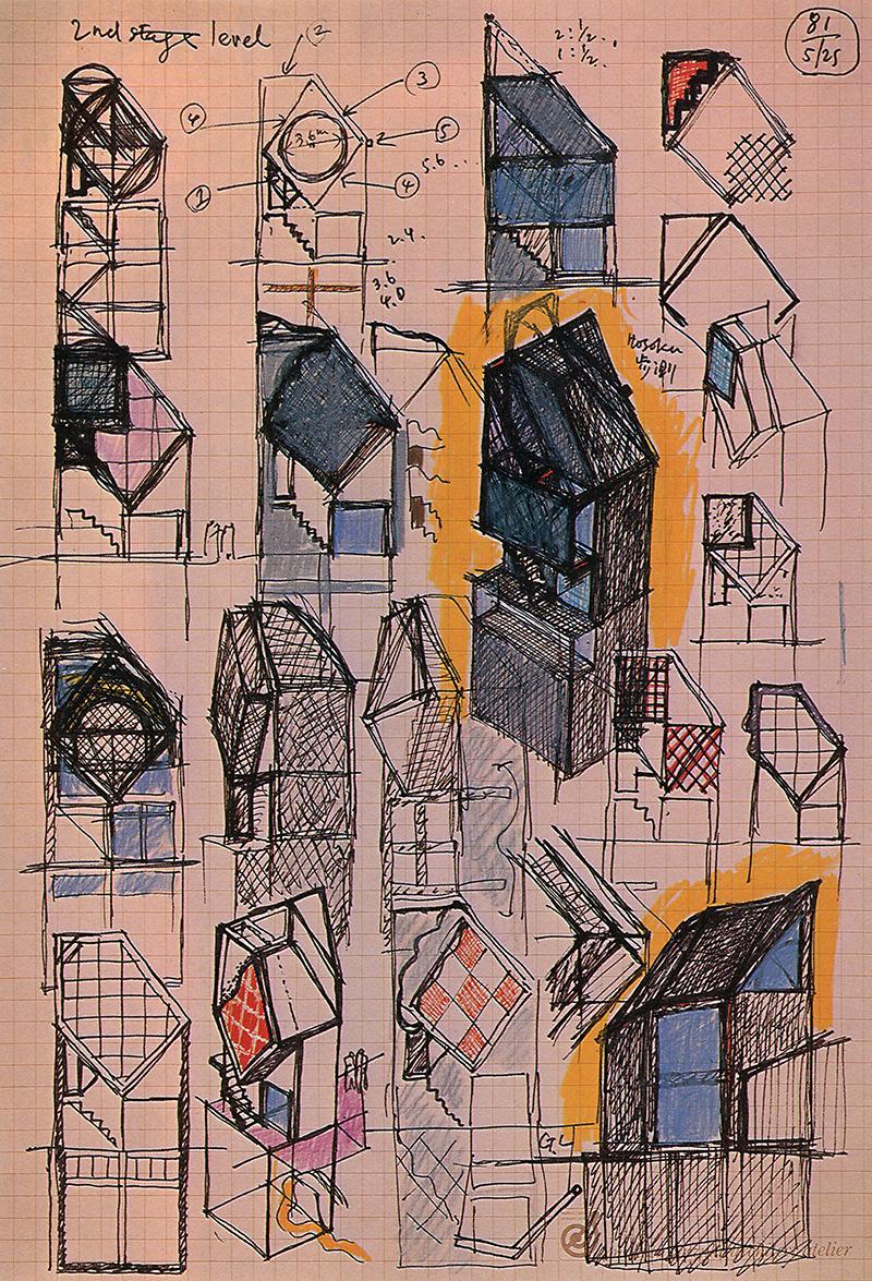 Mokoto Suzuki. GA Houses. 14 1983, 62