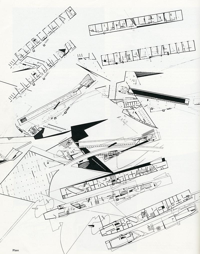 Zaha Hadid. AA Files 4 July 1983, 86