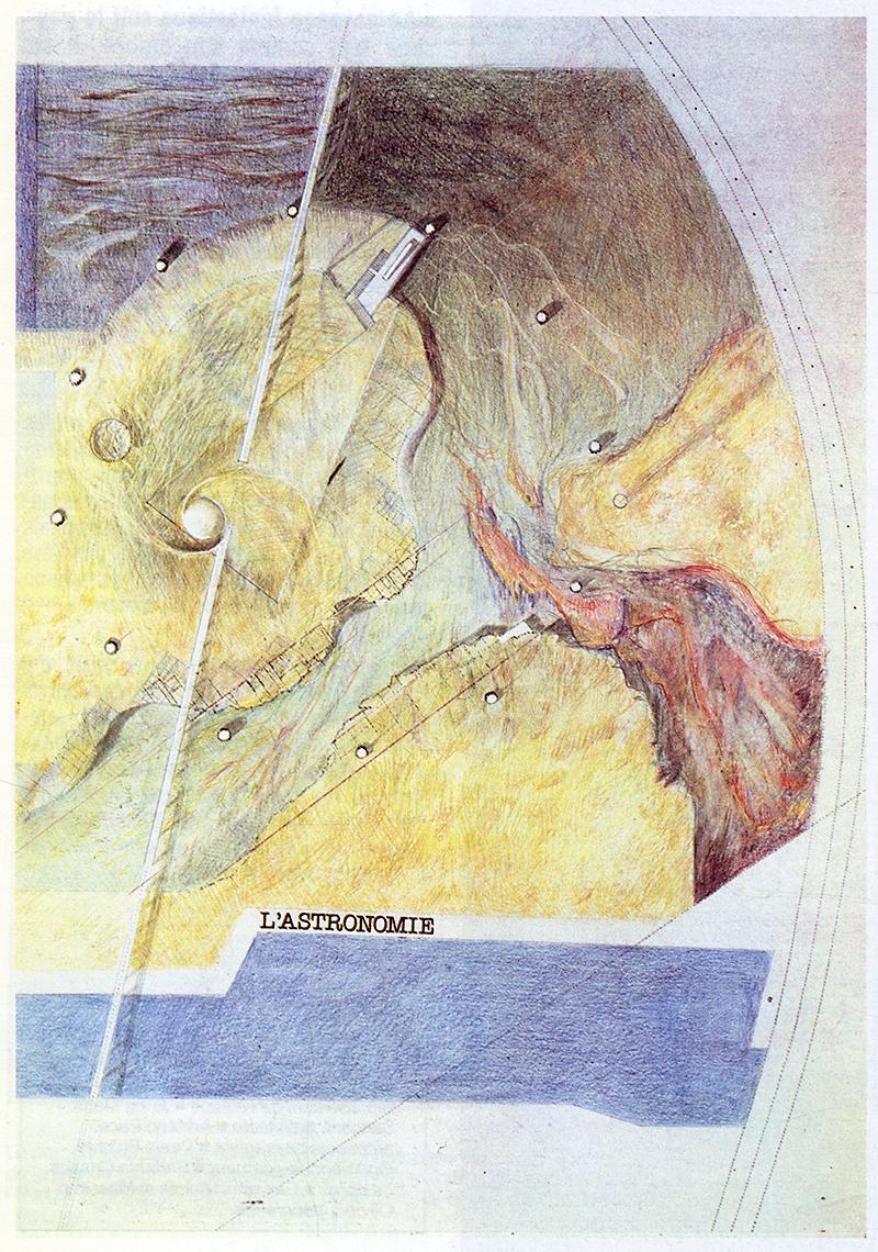 Michel Corajoud. L'invention du parc. Graphite 1984, 178