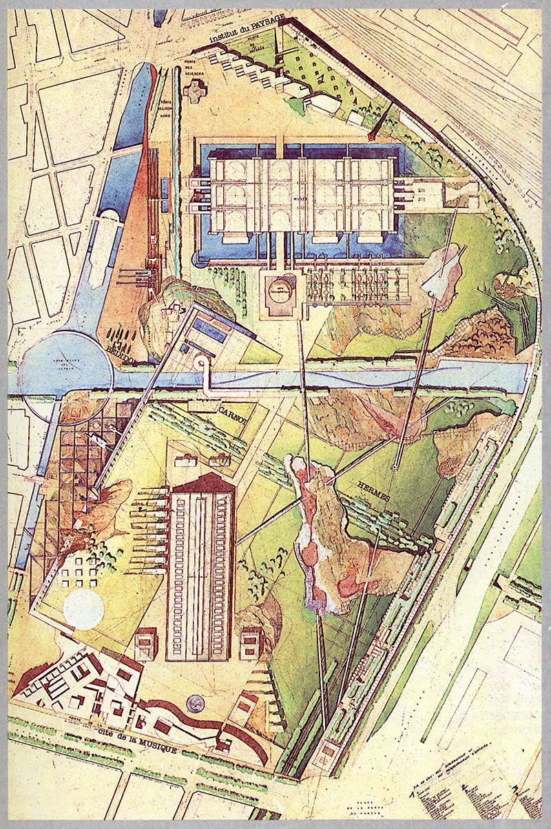 Michel Corajoud. L'invention du parc. Graphite 1984, 179