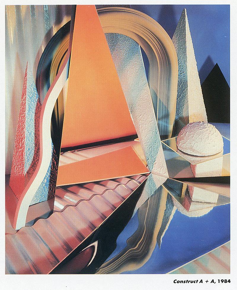 Barbara Kasten. Arts and Architecture  1985,