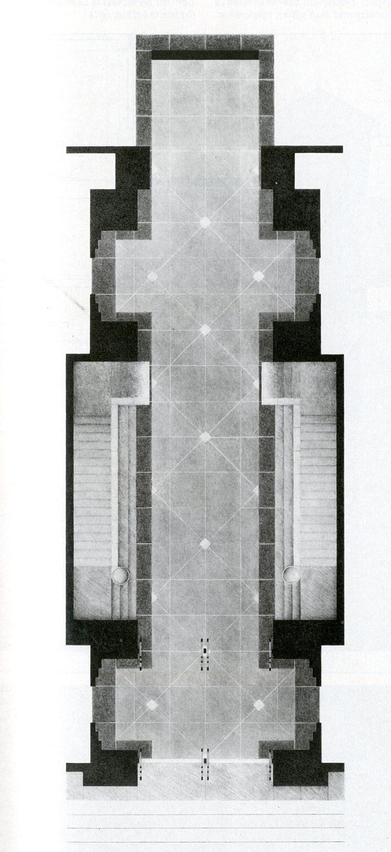 Peter L Gluck. Architectural Record 174 April 1986, 123