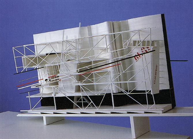 Daniel Liebeskind. A+U 216 August 1988, 122